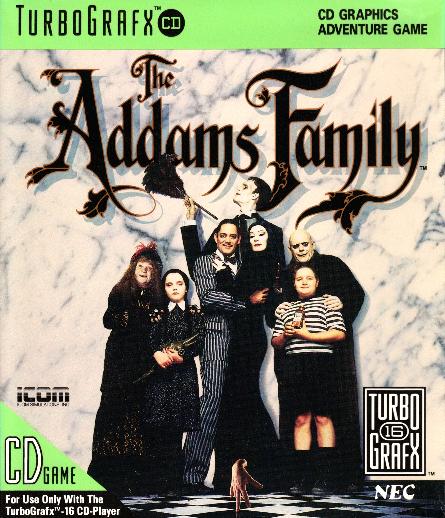 The Addams Family - The PC Engine Software Bible