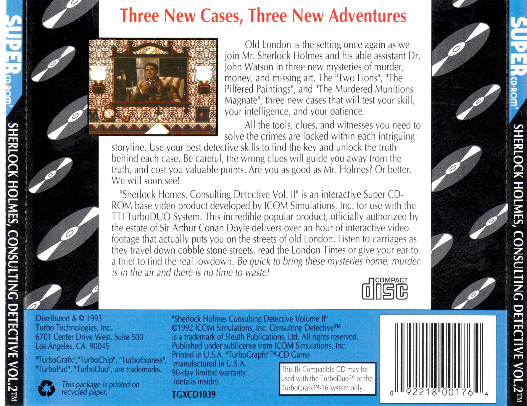 US-SHERLOCK HOLMES CONSULTING DETECTIVE VOL. 2]
