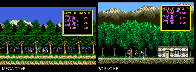 Sorcerian - The PC Engine Software Bible