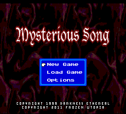 Mysterious Song - The PC Engine Software Bible