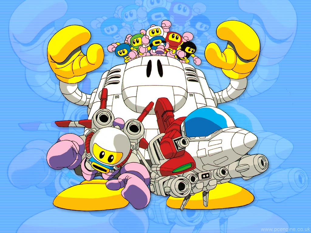 PC Engine and Anime Wallpapers